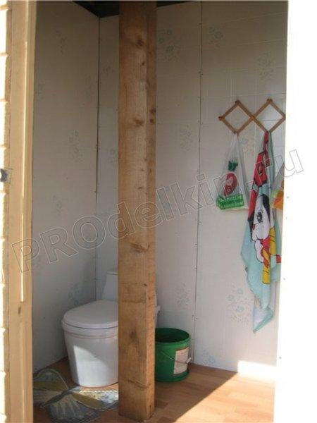 Дачный душ с туалетом своими руками