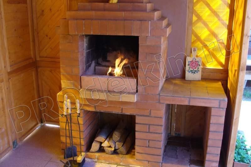 Мангал и печь для дачи своими руками фото