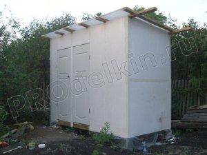 Летний душ+туалет