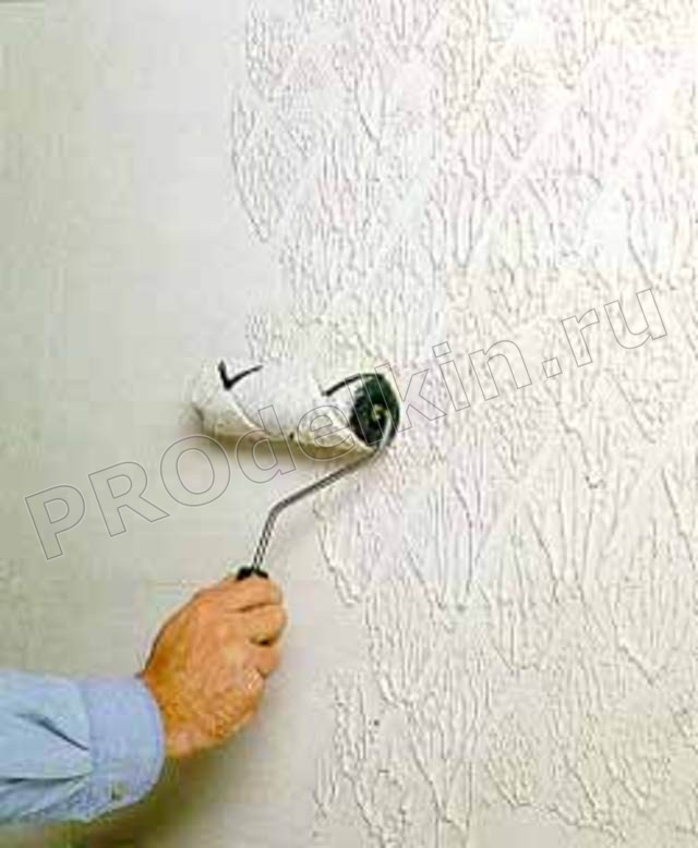 Окраска потолка своими руками