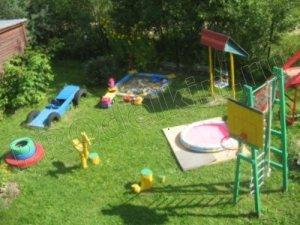 Оформление детских площадок своими руками