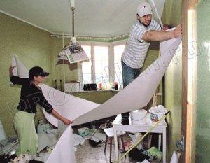 Ремонт комнаты своими руками