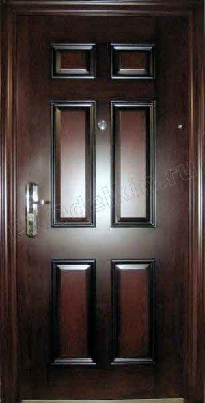 Как утеплить металлическую дверь
