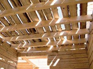 Устройство деревянных перекрытий