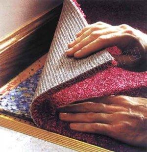 Монтаж ковролина своими руками