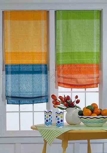Шить шторы для кухни своими руками