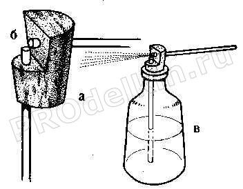 Как сделать распылитель для побелки своими руками