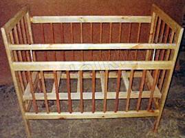 Реставрация кроватки своими руками