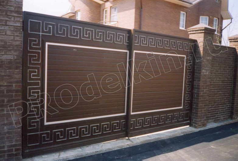 Ворота для дома рисунки