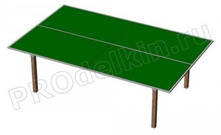 Теннисный стола своими руками