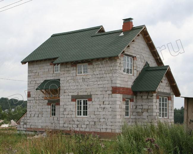 домов и коттеджей из пеноблоков