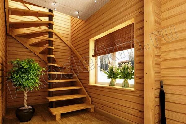 Загородном или городском доме можно и