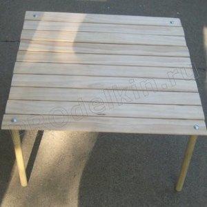 Походный стол своими руками