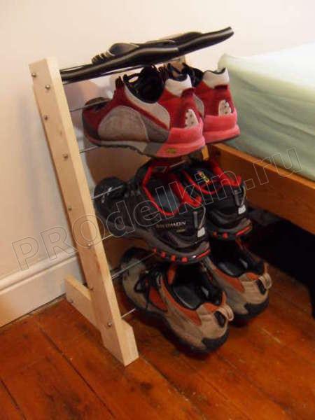 обувные полки своими руками фото